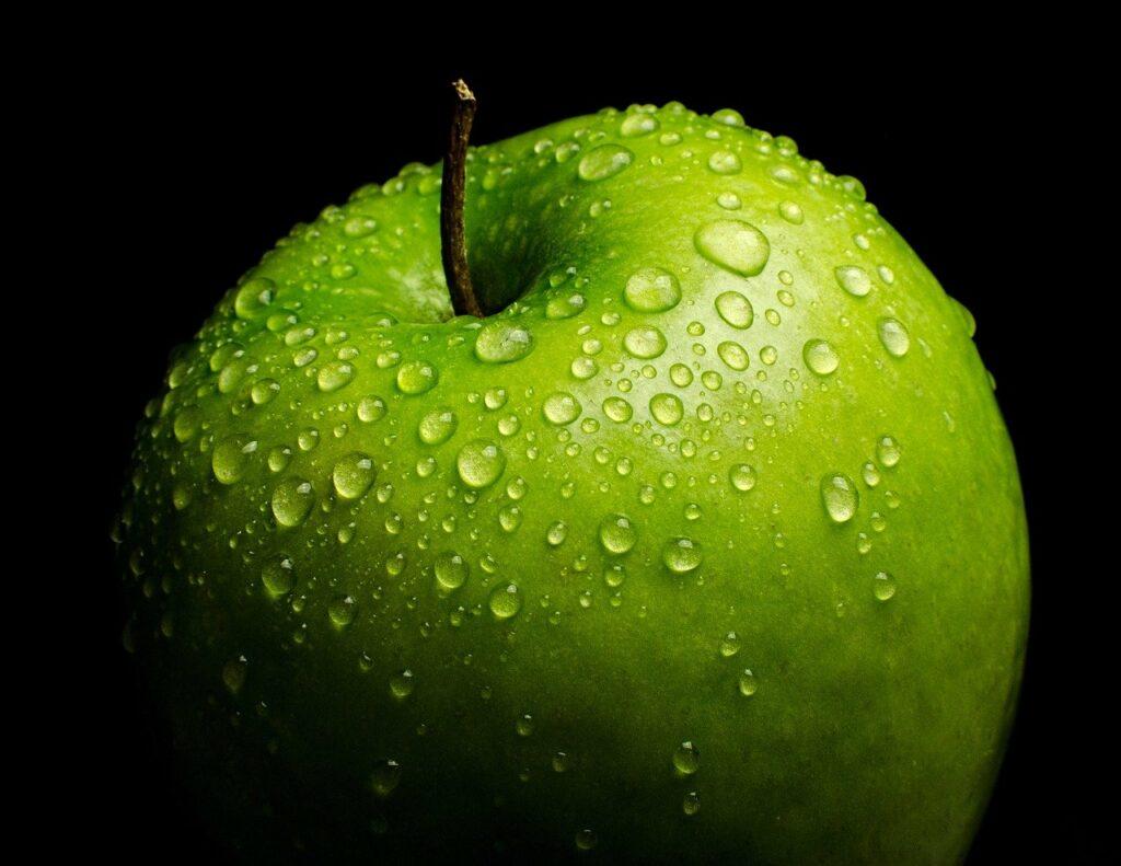 Pomme Verte pour dissiper l'odeur d'ail dans la bouche